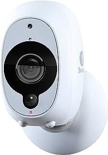 Cámara de Seguridad Inteligente de Swann: Cámara de Seguridad Inalámbrica 1080p Full HD con Sensor Térmico y de Movimiento PIR True Detect Visión Nocturna y Audio