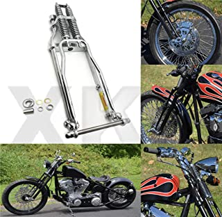 "SMT- 20"" 2 Under Chrome Springer Front End With Axle Kit Compatible With Harley Chopper Bobber [B07M8P85B7]"