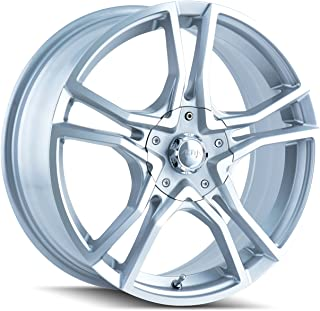 Akita AK85 485 Hyper Silver Wheel with Machined Face (17x7