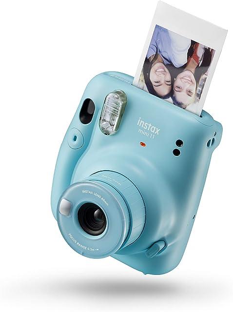 Instax 16654956 Mini 11 - Cámara Instantánea Sky Blue Compacto