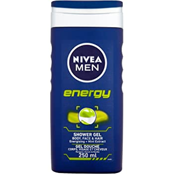 Nivea men - Energy, cuidado de ducha, pack de 4 (4 x 250 ml ...