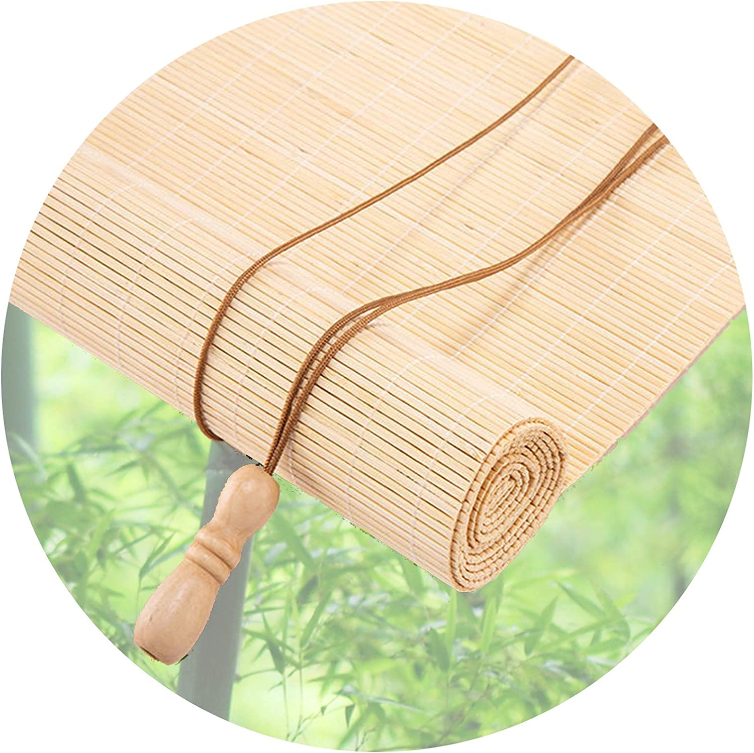 Bamboo Roller Super 4 years warranty Special SALE held Shade Light Filtering Semi-P Windows Fits Blinds