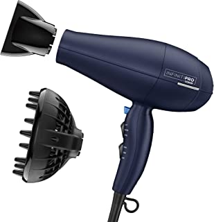 INFINITIPRO BY CONAIR 1875 Watt Texture Styling Hair Dryer, Enhance Your Natural Curls and Waves