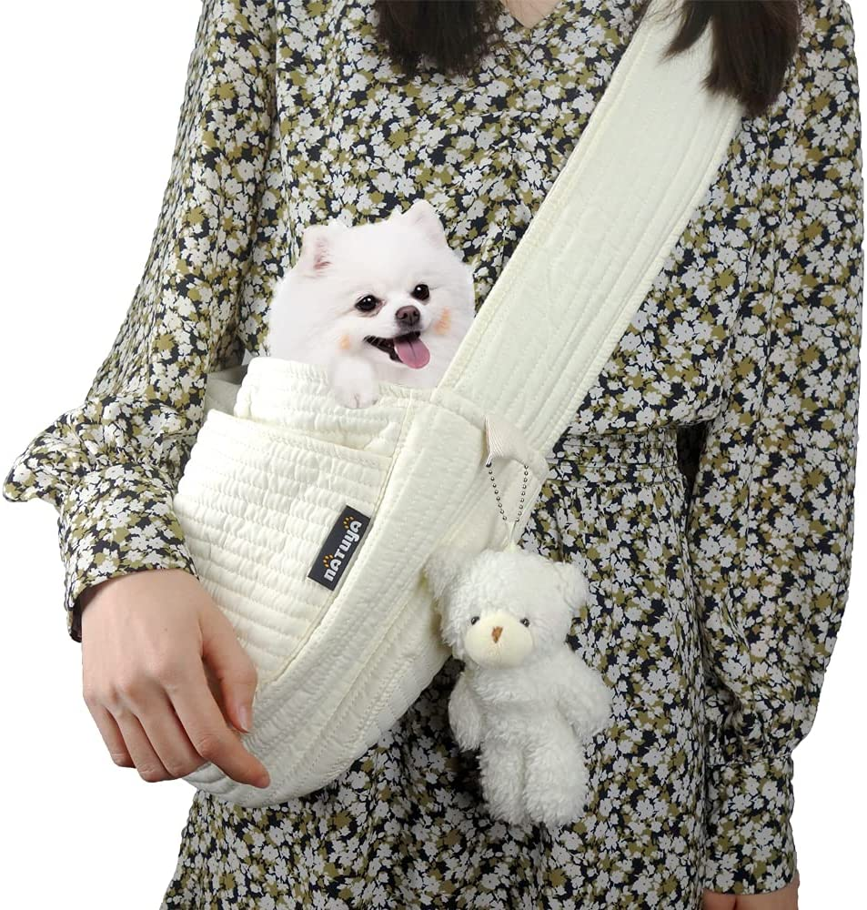 NATUYA Pet Sling Carrier Dog Small Brath Outstanding Cat Recommended