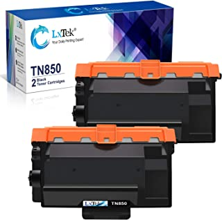 LxTek Compatible Toner Cartridge Replacement for Brother TN850 TN-850 TN820 TN-820 (2 Black, High Yield)