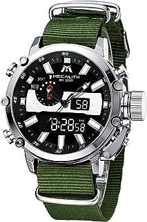 MEGALITH Relojes Hombres Reloj Deportivos Digital Militar Impermeable LED Relojes Multifuncion Cronometro Calendario Fecha...