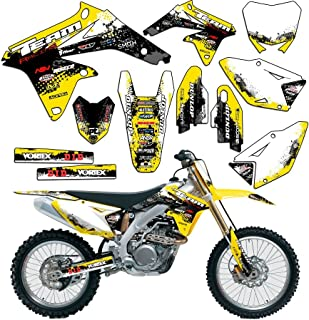 Team Racing Graphics kit compatible with Suzuki 1993-1995 RM 125/250, SCATTER