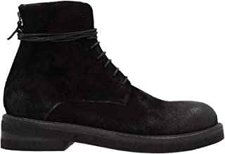 Luxury Fashion | Marsell Men MM296116666 Black Suede Ankle Boots | Autumn-winter 20