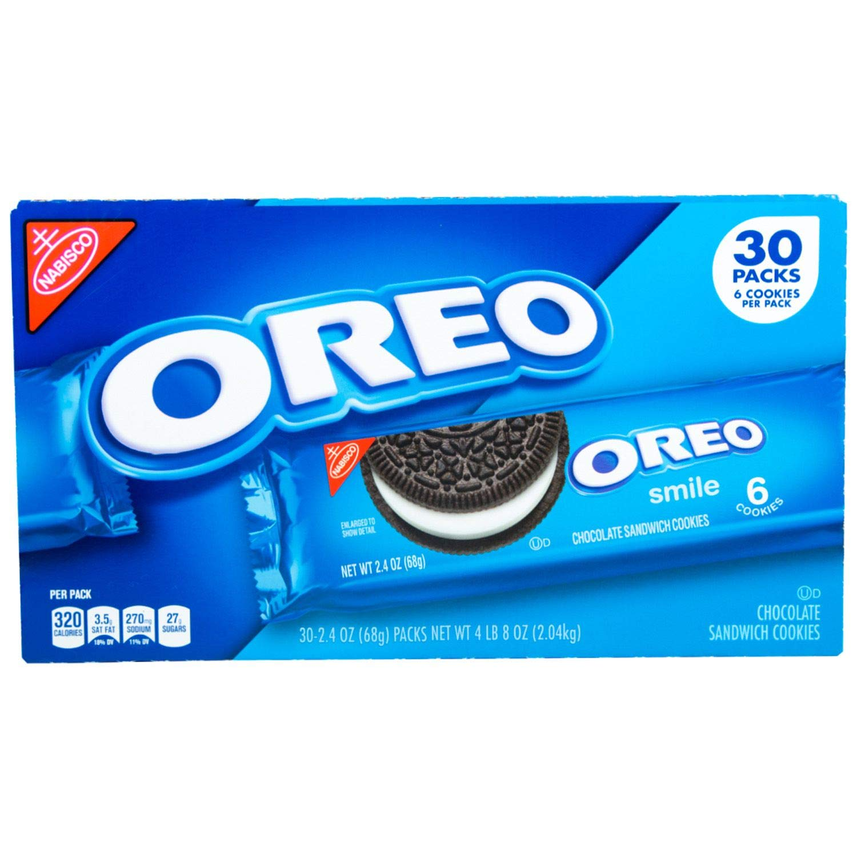 Nabisco Oreo Chocolate Sandwich Cookies 2.4 30 5 ☆ very popular pack ct. of 5% OFF oz.