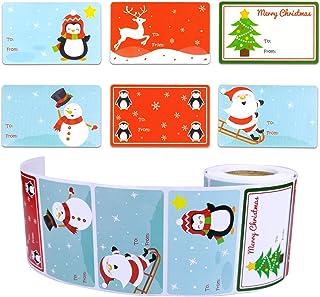 4.0 cm Stamp Christmas -Christmas gift tag Christmas time Stamp WR-1 Santa Claus