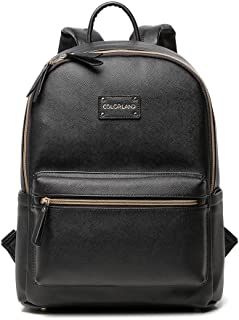 Colorland Vegan Leather Diaper Bag Backpack. Our Diaper Bag Backpack was Crafted for The Minimalist mom who Wants a Lightweight Diaper Backpack Option That fits Everything. Designed by Real Moms!