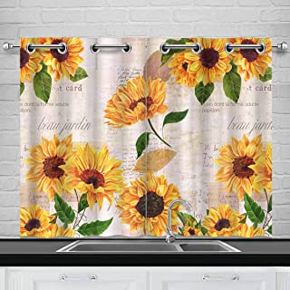 Best kitchen window swag curtains Reviews