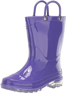 Western Chief Kids' Waterproof PVC Light-up Rain Boot