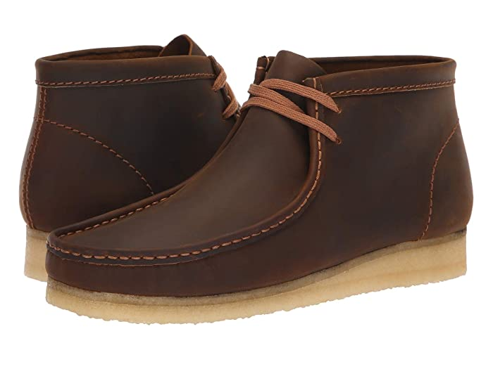 60s , 70s Hippie Clothes for Men Clarks Wallabee Boot Beeswax Mens Shoes $149.95 AT vintagedancer.com