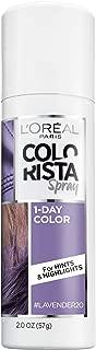 L'Oreal Paris Hair Color Colorista 1-Day Spray, Pastelavender, 2 Ounce