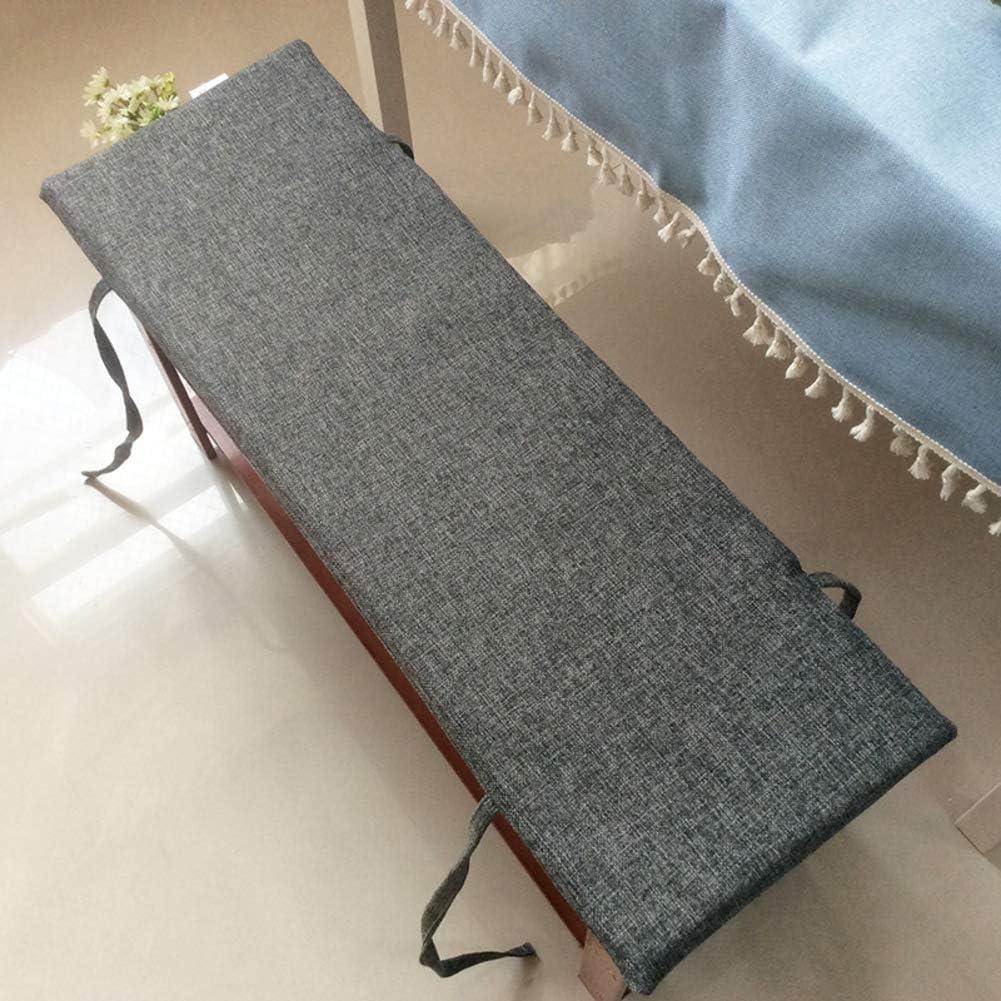 Thicken Solid Color Bench Cushion Long Slip Stool Soft 5 ☆ very popular D Non Arlington Mall Mat