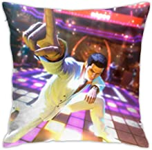 Yakuza 0 Square 18x18 Inches Decorative Pillowcases, Throw Cushion Cover with Zipper for Bedroom Living Room Sofa Home Decor