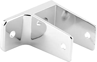 Sentry Supply 650-6395 1 Ear Wall Bracket, 1-1/4-Inch, Chrome
