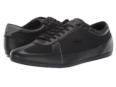 Lacoste Evara Sport 319 2 U (Black/Dark Grey) Men