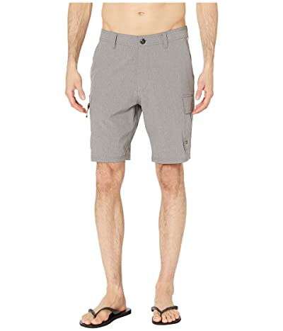 Quiksilver Waterman Skipper Amphibian 20 (Charcoal Gray) Men