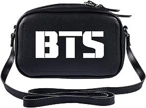 DHSPKN Kpop BTS Handbag Bangtan Boys Shoulder Bag Jungkook Suga Jimin V PU Crossbody Bag for Women