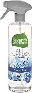 Seventh Generation All Purpose Cleaner, Free & Clear, 23 Fluid Ounce