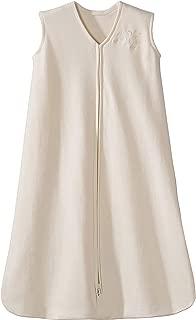 HALO Sleepsack 100% Cotton Wearable Blanket, Cream, Large