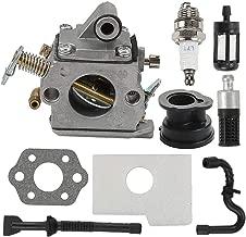 Mckin MS170 MS180 Carburetor fits Stihl 017 018 MS170C MS180C Chainsaw with Tune Up Kit