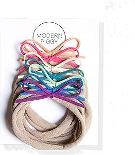 modern piggy bows