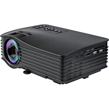 Videoproyector, Deeplee DP36 LCD LED Mini Proyector Home Cinema ...