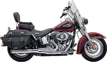 Bassani Xhaust 88-17 Harley FLSTC Road Rage 2 B1 Power 2-Into-1 Exhaust (Chrome)