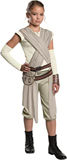 Star Wars: The Force Awakens Child's Deluxe Rey Costume, Large