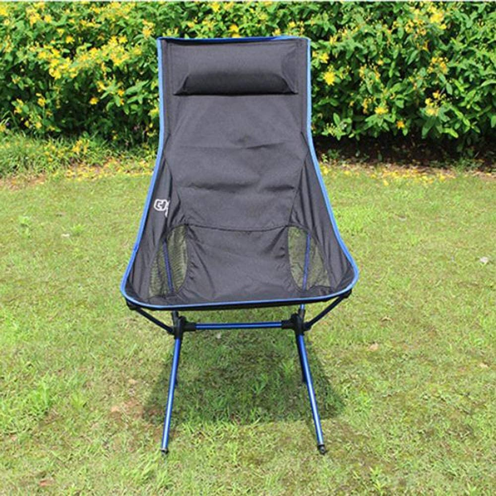 Portable Camping Chair Albuquerque Mall Lightweight Heavy Beach Compact Over item handling ☆