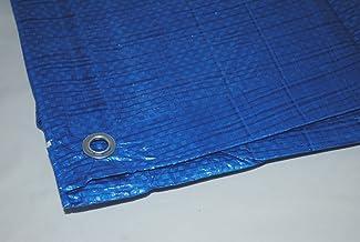 Universeel zeildoek, waterdicht, blauw (20 x 20 m)