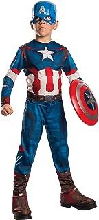 Rubie`s Marvel 610424-L- Disfraz Capitán América Set con