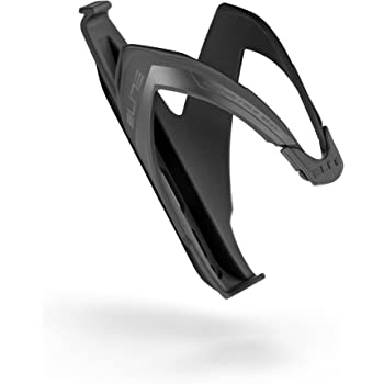 SOFT TOUCH MATTE BLACK NEW Elite CUSTOM RACE Cycling Water Bottle Cage