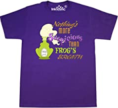 Inktastic - Nothing's More Suspicious than Frog's Breath T-Shirt Small Purple