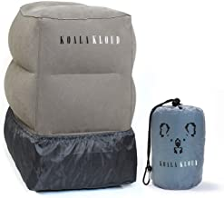 Koala Kloud Airplane Footrest - Inflatable Pillow For Kids Travel   Toddler Plane Accessories    Bed Pillows For Long Car Trips   1st Class Airtravel & Accessory For Office