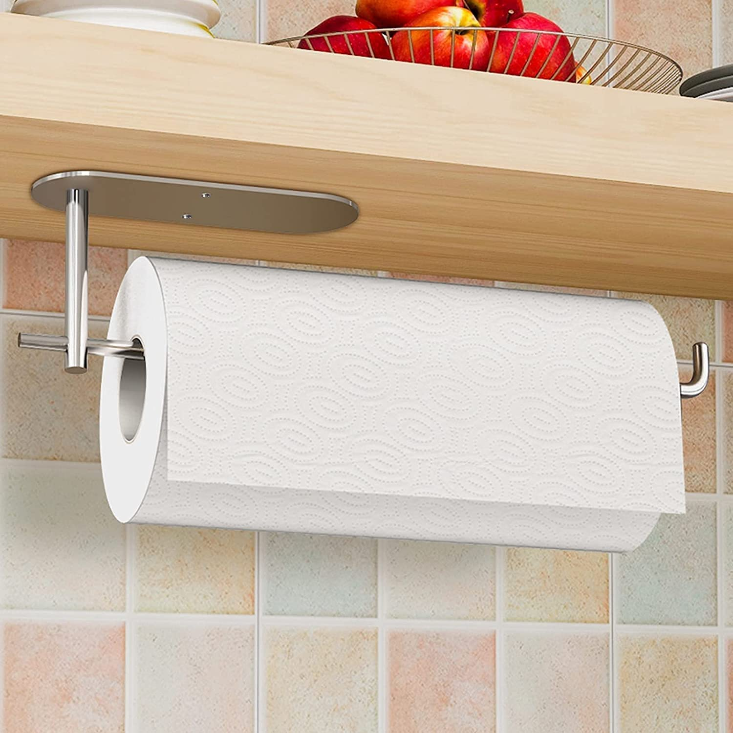 Max 71% OFF Paper Towel Holder for 13.39''x3.35''x1.97'' outlet Self-Adhesi Kitchen