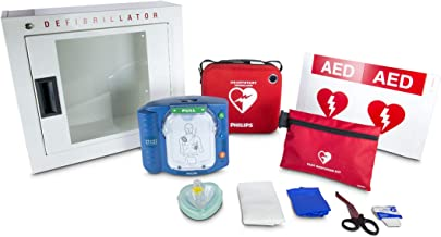 Philips HeartStart OnSite AED Defibrillator Business Package with Slim AED Carry Case,..