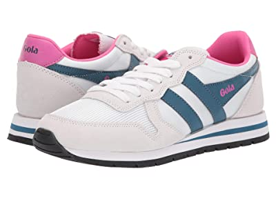 Gola Daytona (White/Baltic/Fuchsia) Women