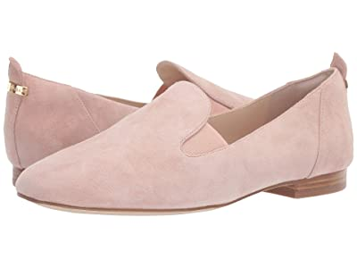 Cole Haan Portia Loafer (Mahogany Rose Suede/Mahogany Rose Gore/Light Natural Stack) Women