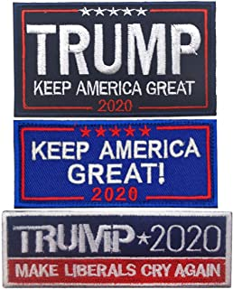 Oyster-Patch Trump 2020 Make America Great Again Tactical Patch Hook & Loop