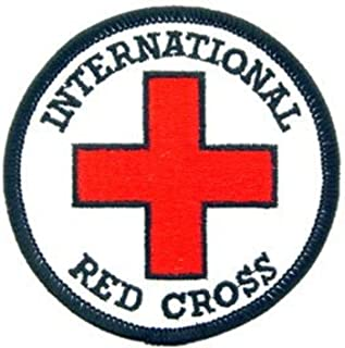 EagleEmblems PM3960 Patch-Medic,Red Cross,Int (3'')