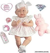 JC Toys La Newborn All-Vinyl-Anatomically Correct Real Girl 15