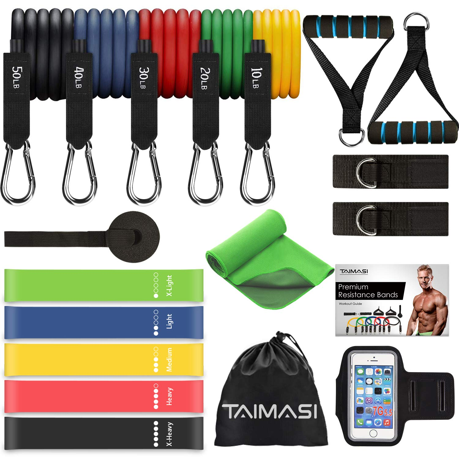 TAIMASI Resistance Workout Stackable Exercise