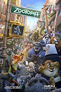 Posters USA - Disney's Zootopia Movie Poster GLOSSY FINISH) - MOV181 (24