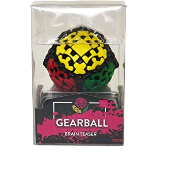 GEAR BALL by Mefferts- Speed Cube, 3x3 Speed Cube, One-player Games, Brain teasers
