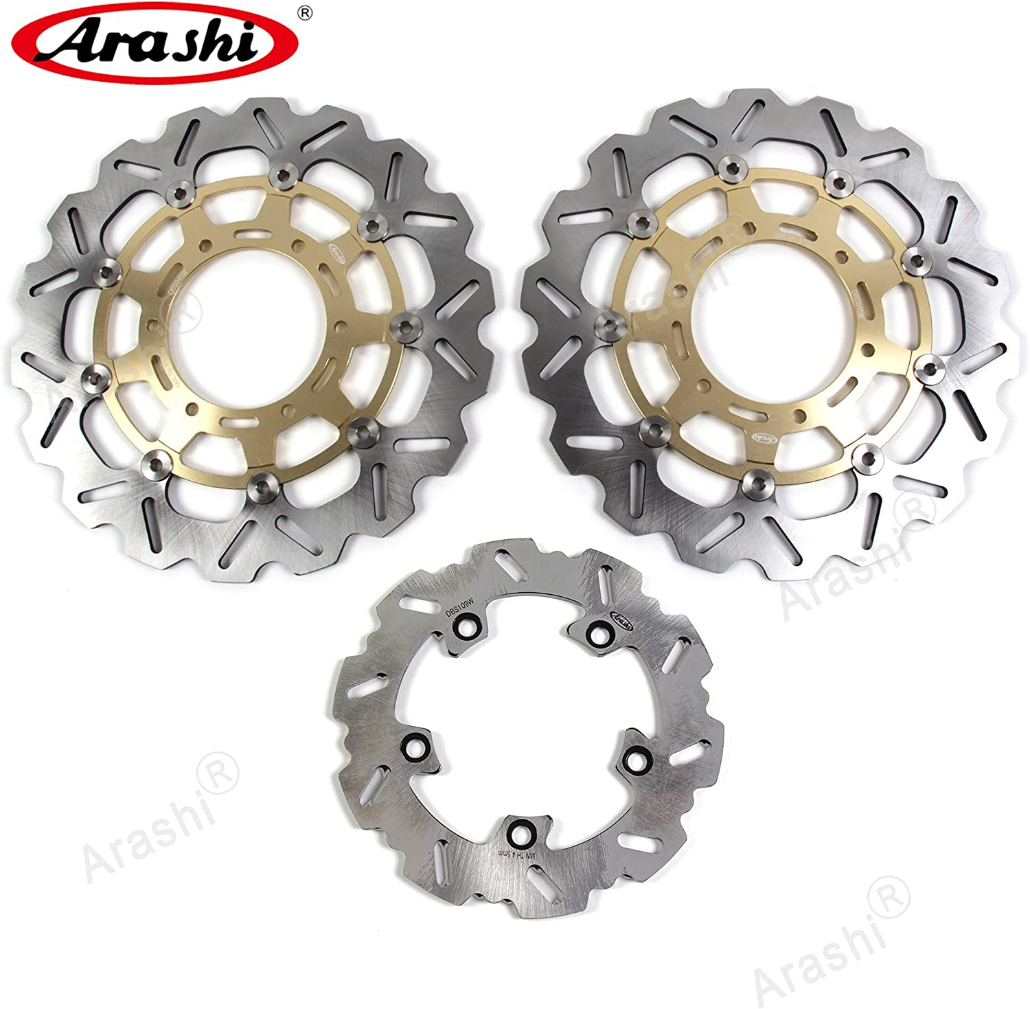 Arashi Front Rear Brake Al sold out. Disc Rotors SUZUKI for Mo GSXR 1000 Now on sale 2016