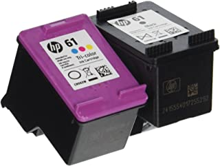 HP Ink Cartridge 61 Black and Tricolor Ink Cartridges, Combo 2/Pack, (CR311AA)